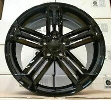 "18""golf r black alloy wheels audi/passat/skoda/seat/a4/a6/a5 with tyres"
