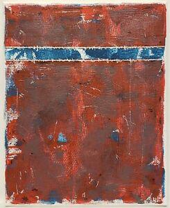 No.969 Original Abstract Modern Minimal Urban Textured Painting By K.A.Davis