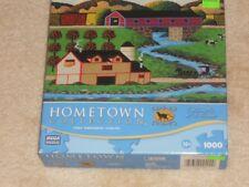 "Hometown 1000 Piece Puzzle-""Covered Bridge""-2011"