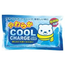 Kokubo Soft Cool Charge Cooler Freezer Pack Food Travel Fever Injury Sports Pain