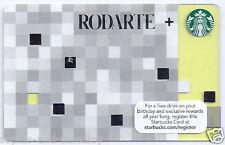 2012 Starbucks Card - Rodarte, Kate & Laura Mulleavy - Lime Green, Very Cool!