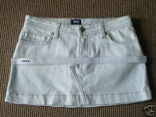 *NEW*  $295.00 Authentic D&G DOLCE & GABBANA White Nice Mini Skirt Size 24