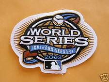2003 WORLD SERIES MLB 100TH ANNIVERSARY  PATCH
