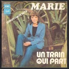 "EUROVISION 1973 Monaco MARIE ""Un train qui part"" 2ème pochette EUROVISION NEUVE"