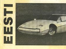 EESTI  Kitcar  Circa Late 60's-Early 70's.