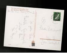1945 Austria postcard Cover Hitler overprints Mi  # 668