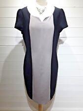 Papaya Dress ~ Size 18 ~ Black, Grey ~ Short Sleeved  ~ Everyday - 1547