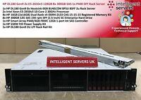 HP DL180 Gen9 2x E5-2650v3 128GB 8x 300GB SAS 1x P440 SFF Rack Server