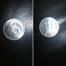 San Marino moneta 5 lire del 1975