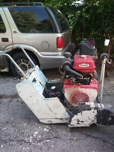 Target Self-Propelled Floor Saw. 20 hp Honda motor