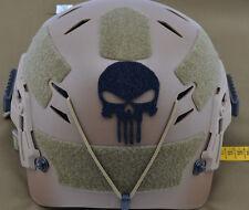 Adhesive / Adesivo Laser Cut VELCRO® brand loop Skull for helmets