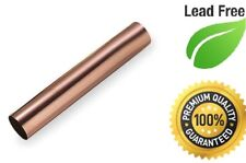 "3"" DWV COPPER X 12""  USA MADE COPPER PIPE  UPC/LEAD FREE"