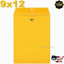 """10 Letter Envelops 9x12"""" Kraft Mailer Bags Mailers Envelope Bag Mailing Packing"""