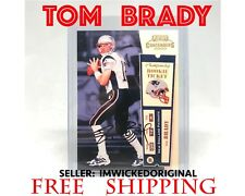 2000 PLAYOFF CONTENDERS AUTO TOM BRADY ROOKIE SIGNED REPRINT 012/100 MINT RC!!!!