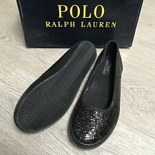 BNWT *ON SALE* Ralph Lauren Gorgeous black shoes UK 2.5 Eu 35 100%Genuine