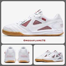 Nike Supreme SB Gato QS, AR9821-116, Sz UK 6.5, EUR 40.5, USA 7.5, White, Red