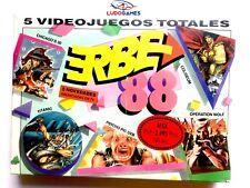 Erbe 88 5 Videojuegos Spectrum MSX PAL/SPA Nuevo Precintado New Sealed Retro