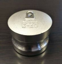 """1/2"""" Inch Camlock Fitting Type DP 316 Stainless Steel Camlock Dust Plug"""