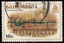 """BAHAMAS 467 (SG560) - Ceremonial Mace """"1980 Printing"""" (pa50019)"""