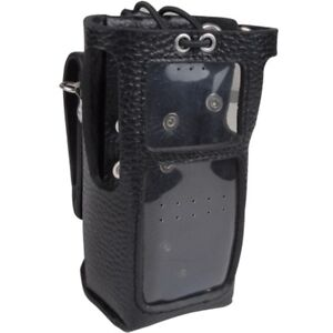 Hytera LCY006 Leather Case with Swivel Belt Clip for PD7 Series Radios