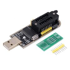 25 SPI Series 24 EEPROM CH341A BIOS Writer Routing LCD Flash USB Programmer or