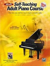 Alfred's Self-Teaching Adult Piano Course Book,CD & DVD ,37230