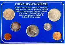 1979 COINAGE OF KIRIBATI ( BRITISH CROWN COLONY) UNCIRCULATED -RARE !