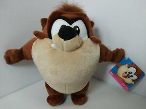 "Baby Looney Tunes Taz Tazmanian Devil w/tags 9"" Plush Toy 2002 Fisher Price EUC"