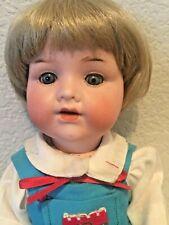 "Antique Vintage 990 A.M. Germany 4/0 Bisque Composition Doll 11"""