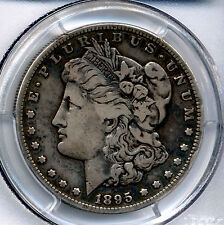 1895 S  Key Date Morgan Dollar  PCGS VF20 SECURE  NOT DIPPED OUT  PRICE DROP!!!