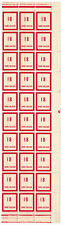 Timbre fictif N° 98 en fragment de feuille de 30 timbres Neuf **
