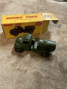 643 DINKY ARMY WATER TANKER