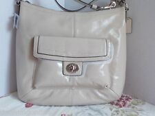 New COACH F21001 PENELOPE PATENT LEATHER CONVERTIBLE SHOULDER BAG AUTHENTIC $328