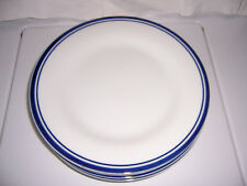 POTTERY BARN CLUB DINNER PLATES. 10 & 3/8 INCH