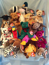 Ty Beanie Babies 17/Lot  Animals 1993 to 2002 All Retired 3+ Boy Girl $18.99