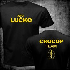 ATJ lucko-Cro Cop Team camisa-talla L-Pride k1 UFC MMA