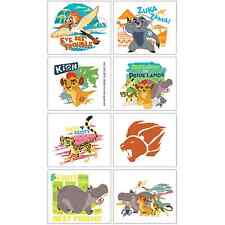 Lion Guard Tattoos Happy Birthday Party Decorations Favor Supplies~Sheet of 8ct