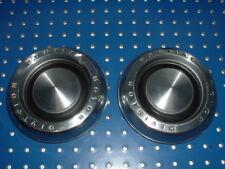 """VINTAGE USED 2 PONTIAC MOTOR DIVISION CENTER HUB CAPS- 6"""" DIAMETER GM #9780985"""