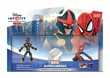 DISNEY Infinity 2.0 SPIDER-MAN SPIDERMAN SET GIOCO ps4/ps3/wii XBOX 360/one/U NUOVO