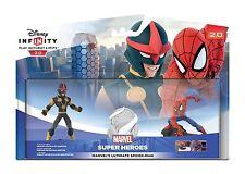 DISNEY INFINITY 2.0 SPIDER-MAN SPIDERMAN SET DA GIOCO PS4/PS3/Wii U/Xbox 360/One