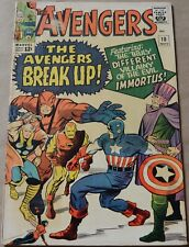 AVENGERS #10 (MARVEL, 1964) 1st appearance of Immortus. Early Hercules appears.