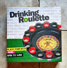 More details for drinking roulette 16 shot glasses party game stag hen spring break fun