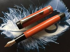 Vintage Coral Red , Fountain Pen, 1937 RRR - Probably PENOL