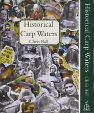 BALL CHRIS LITTLE EGRET FISHING BOOK HISTORICAL CARP WATERS hardback NEW