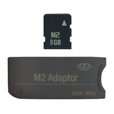 Sony 8GB M2 Micro Memory Stick Card with MS PRO Adapter DUO Converter For Camera