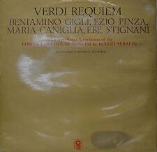 """VERDI REQUIM - GIUSEPPE VERDI - TULLIO SERAFIN 12"""" 2 LP (N374)"""