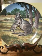The Bridled Wallaby Bradford Exchange Collectors Plate