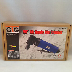 """1/4"""" Air Angle Die Grinder 90 Degree Right Angle 20,000 RPM"""