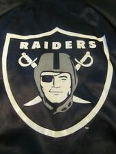 vintage Los Angeles Raiders NFL football satin jacket locker line size 18/20