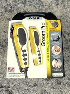 Wahl 79520-3101 Groom Pro Haircut Kit - Yellow/Black